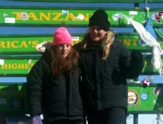 Ally Rees Evans on Kilimanjaro Summit