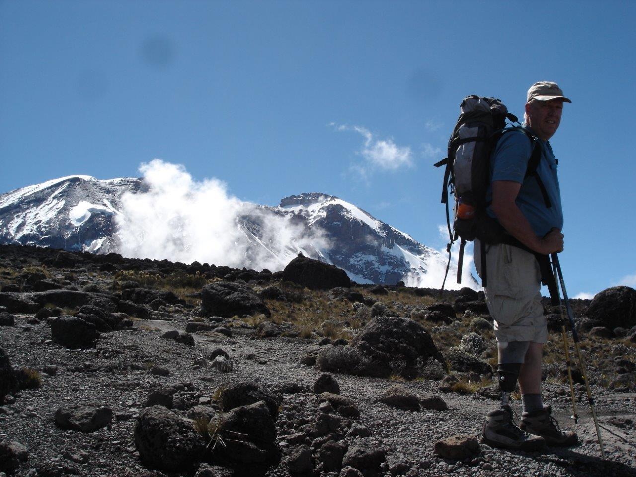 Amputee Climbs Kilimanjaro