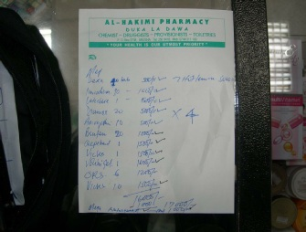First Aid Resupplied From Arusha