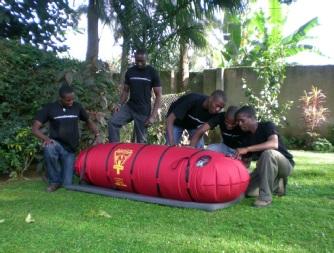 Gamow Bag Training