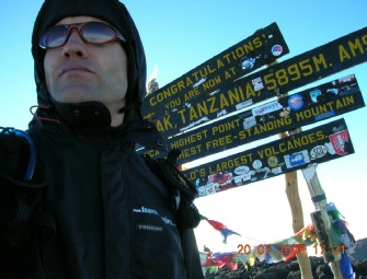 John Evans Kilimanjaro Speed Climb Summit
