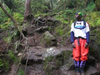 Joseph Ncherere Rocky Trail Umbwe Kilimanjaro
