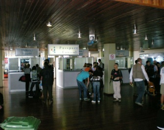 Kilimanjaro Airport Passport Control
