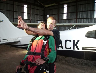 Kilimanjaro Freefall Training
