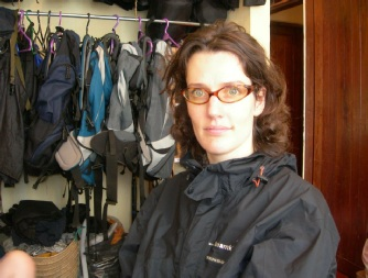 Rebecca At Team Kilimanjaro Equipment Stores