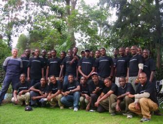 Team Kilimanjaro Staff at TK Base