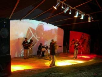 Watengwa Band Performing in Arusha